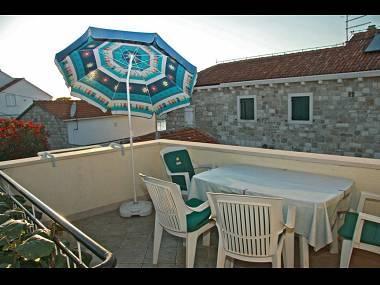 A1(4): terrace - 3181  A1(4) - Postira - Postira - rentals