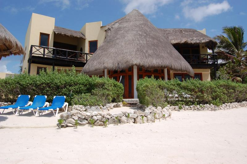 Beachfront - Stunning 3 Bdr Beachfront Paradise, Chic and Relax - Tulum - rentals