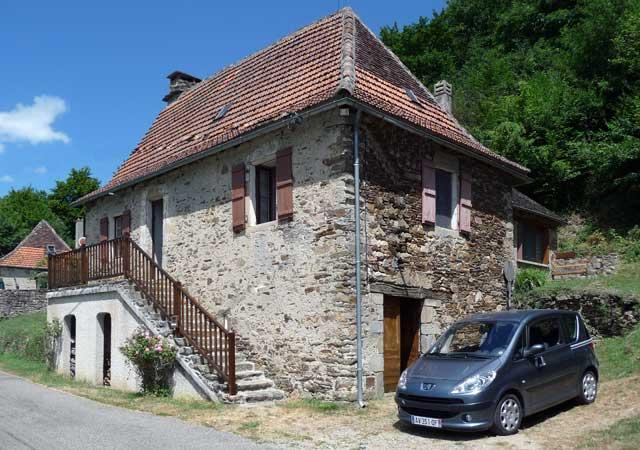 Maison Cantou front - Cantou: A Cottage to Rent in the Dordogne Valley - Dordogne Region - rentals