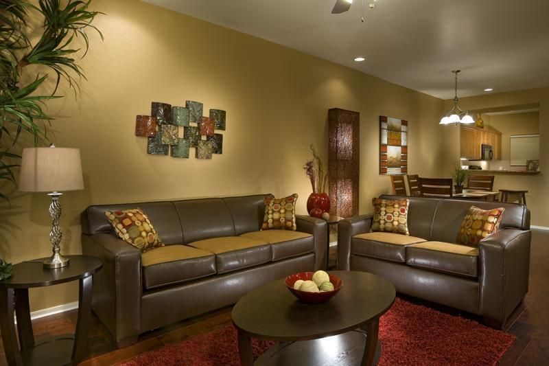 Living Room: Comfortable seating, full sleeper sofa, high ceilings, and more! - Next to Golf, Heated Pool, Hot Tub, Plus 20% OFF - Scottsdale - rentals