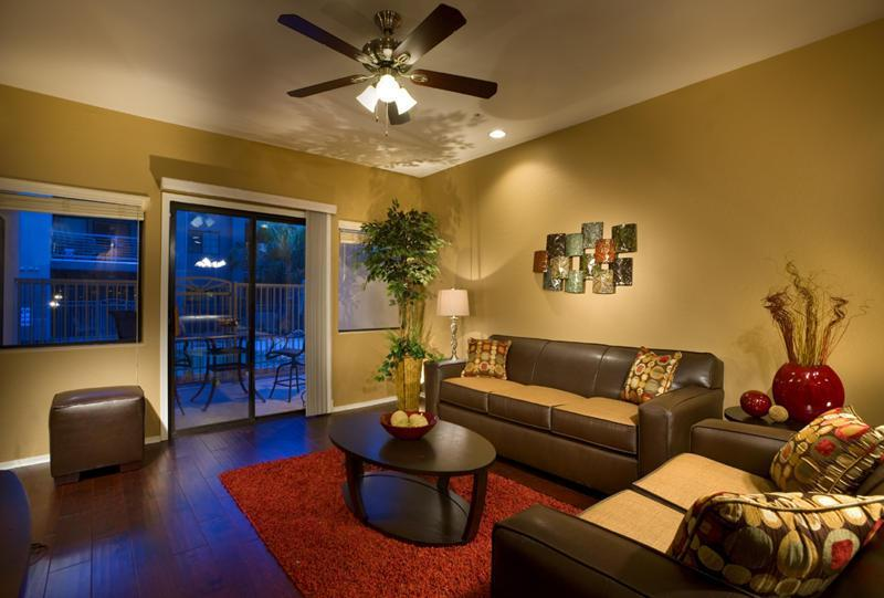 Living Room: Easy access to pool, private patio access, and more! - Unbeatable Location, Next to Golf, Huge Pool, More - Scottsdale - rentals