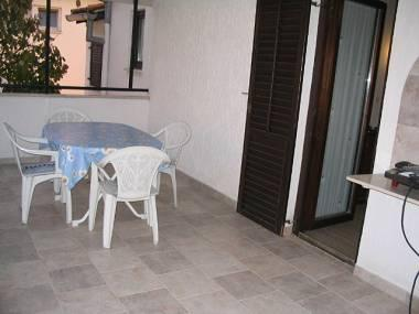 A2(2+2): terrace - 3193 A2(2+2) - Fazana - Fazana - rentals