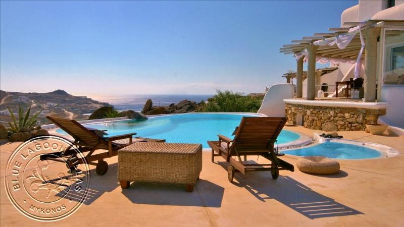 Villa EVE pool view - -15% OFF MAY & JUNE. Rent Private Villa in Mykonos - Mykonos - rentals