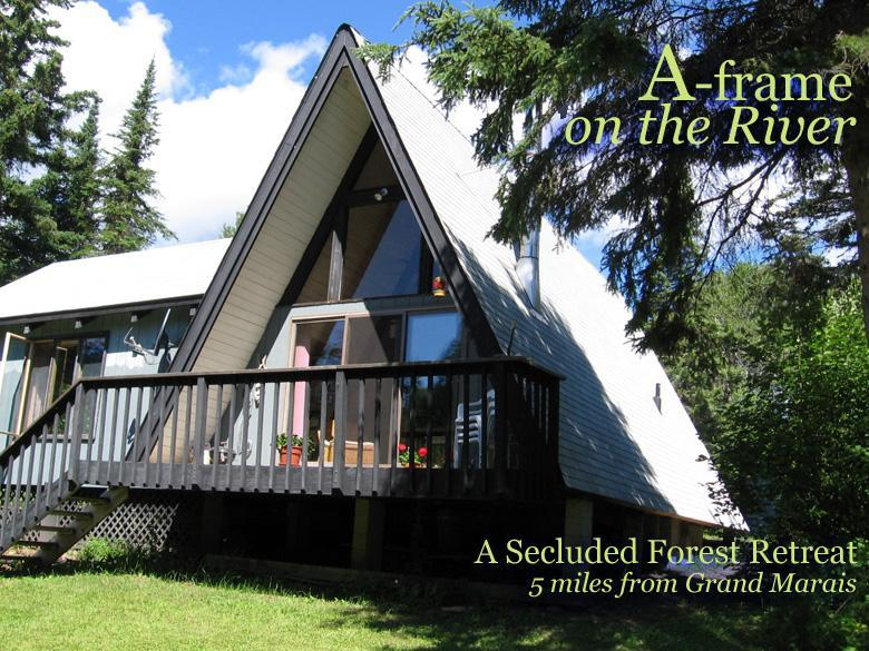 Forest retreat on trout stream just a few miles up the Gunflint Trail! - Secluded cabin on trout stream with grand piano! - Grand Marais - rentals