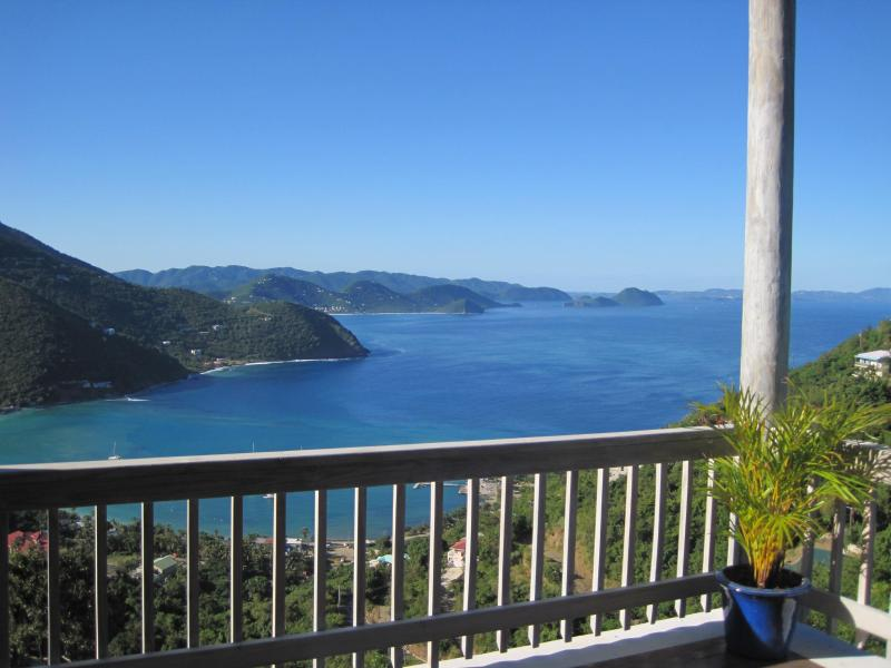 View from the deck - Villa with Pool & Spectacular Views Close to Beach - Tortola - rentals