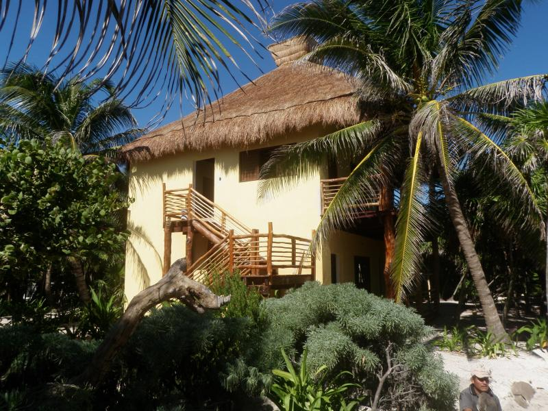 2 story cabaña - Sol Caribe - 2 story  family cabaña on the beach - Punta Allen - rentals