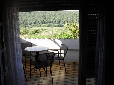 A2(8): balcony - 3244 A2(8) - Kampor - Kampor - rentals