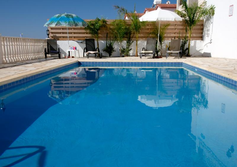 Pool area - Villa Athena Private pool Jacuzzi free internet - Peyia - rentals