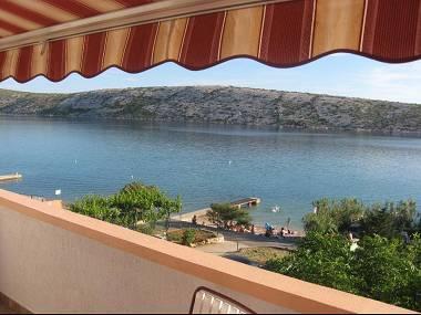 A2(6+1) : terrace view - 3307 A2(6+1)  - Barbat - Barbat - rentals