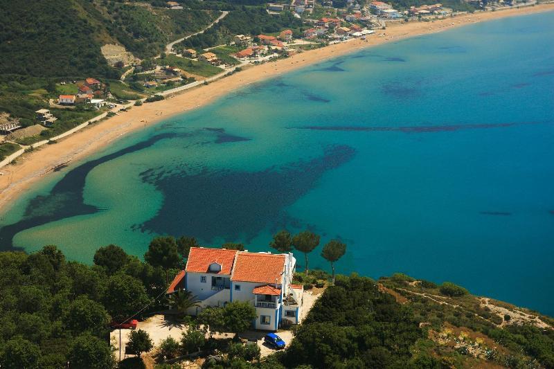 Aerial photo - Dionysos Apartments - Afionas - rentals