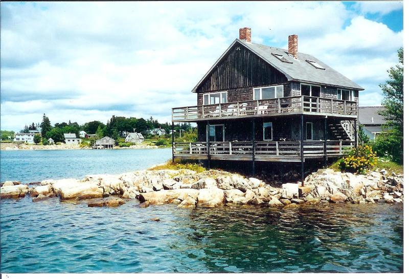 Little Island House, with Upstairs & Downstairs apts.,  each with private entrance and private deck. - Little Island House: Two-apts., rent one or both - Bass Harbor - rentals