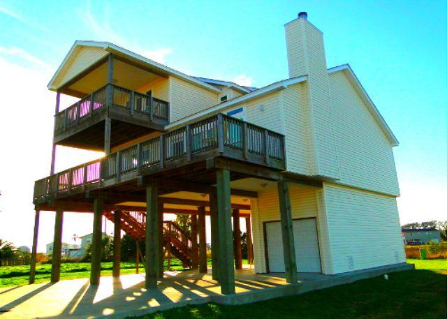 Beautiful home a short walk to beach with view! - Image 1 - Galveston - rentals