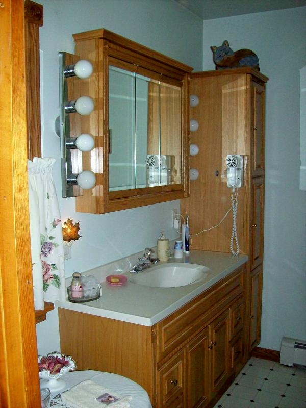 private bath off master bedroom w/jacuzzi tub - PRIVATE, RURAL RETREAT--SINGLE ROOMS AVAILABLE! - Remsen - rentals