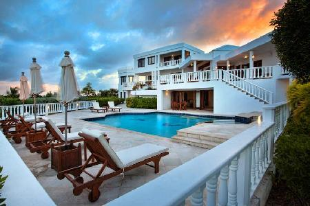 Harmony - Traditional style villa with 2 pools, jacuzzi and a 2 minute golf cart ride to the beach - Image 1 - Anguilla - rentals