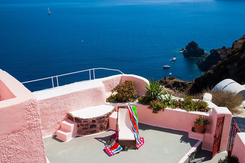 PINK Cave House, Caldera View - PINK & BLUE Cave Houses HOT TUB Panor Caldera View - Oia - rentals