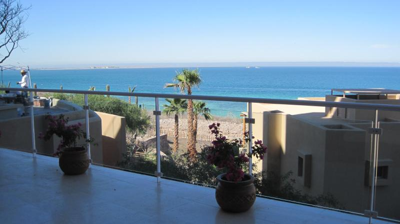 Daytime view from Terrace - New 3 Bedroom, 3 1/2 bath Condo sleeps 8 in luxury - La Paz - rentals