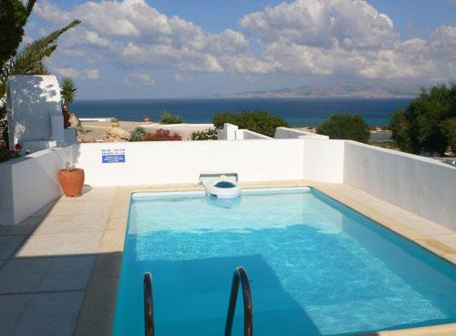 vview from pool-1 - Honeymoon Nest-villa w/private swimming pool - Kastraki - rentals