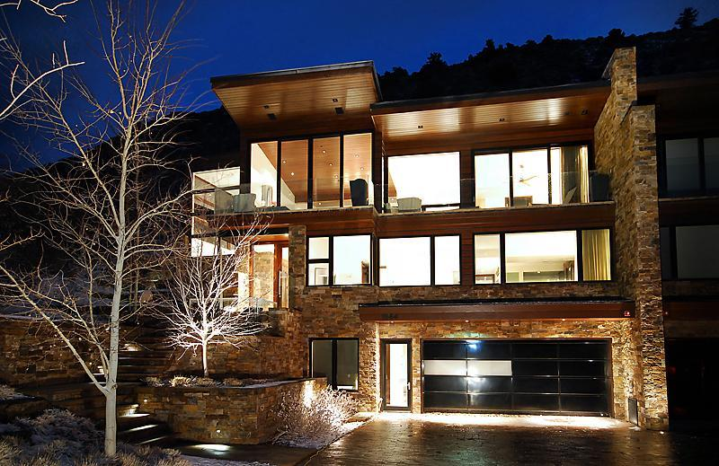 Stunning Contemporary Home with Aspen's best view - Image 1 - Aspen - rentals