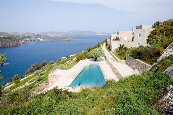 Luxury Villa in Patmos with pool and sea views - Image 1 - Patmos - rentals