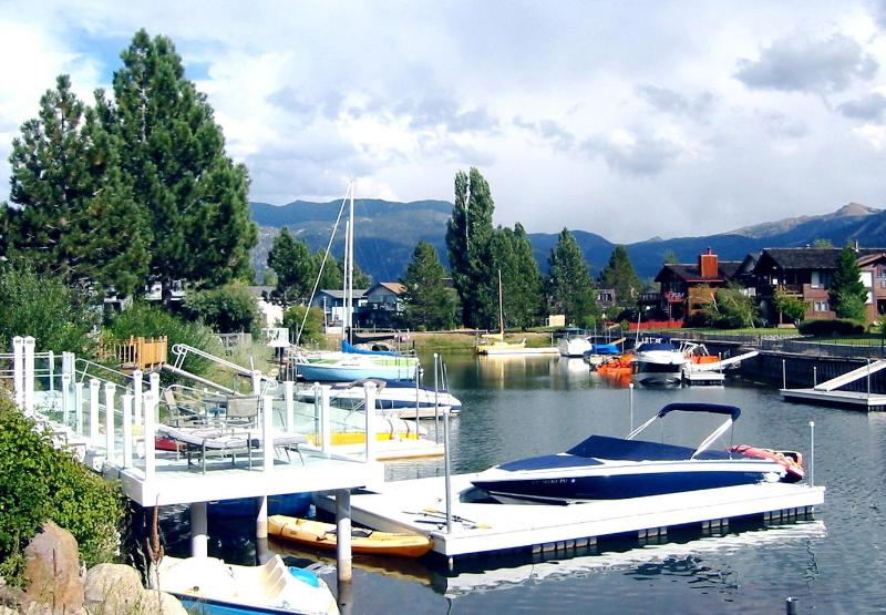 Private Boat Dock - Fabulous Waterfront-Dock-Spa-Theater-PoolTable-Wif - South Lake Tahoe - rentals