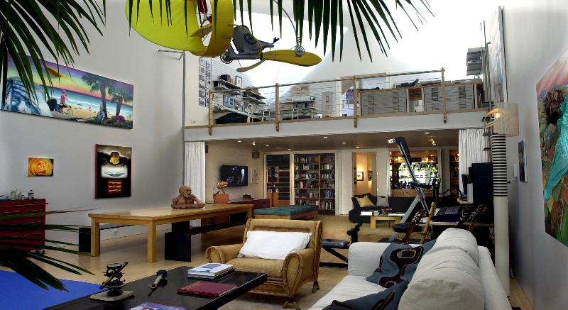 Gallery/Great Room - Eric Clapton's Amazing House on Venice Beach - Los Angeles - rentals
