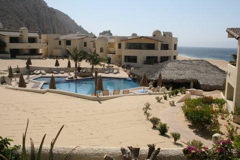 View from living room balcony - Beautiful Cabo San Lucas 2 Bdrm/2Bath Condo - Cabo San Lucas - rentals