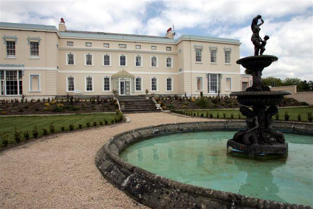 View of the Garden - Palladian Mansion (near Dublin)   deburghmanor. - Athy - rentals