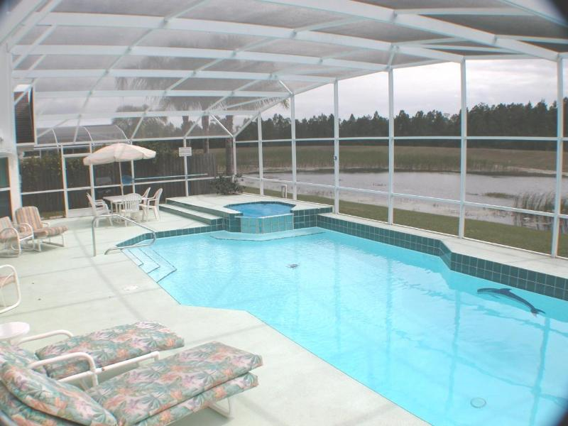 The oversized pool - Secluded Luxury Home w/ Oversize pool near Disney - Kissimmee - rentals