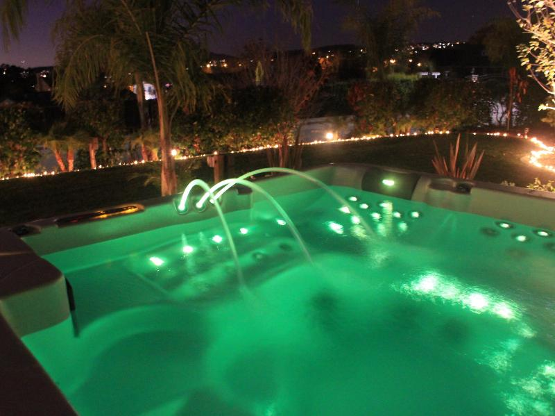 Relax while soaking in our hot tub at West Coast Villa Vacation Rental in the San Francisco East Bay - 8 Bedroom San Francisco East Bay Luxury Villa - San Francisco - rentals