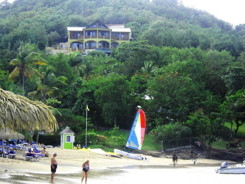 Villa from the Ans Becune Sandy Beach - Beachfront Villa for Beddings Big groups  Families - Cap Estate, Gros Islet - rentals