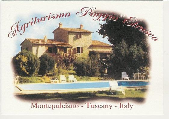 Poggio Etrusco: Montepulciano Tuscany. Organic farm with B&B, apartments, + acclaimed cooking school - Poggio Etrusco: Tuscan B&B, apts, & Cooking School - Montepulciano - rentals