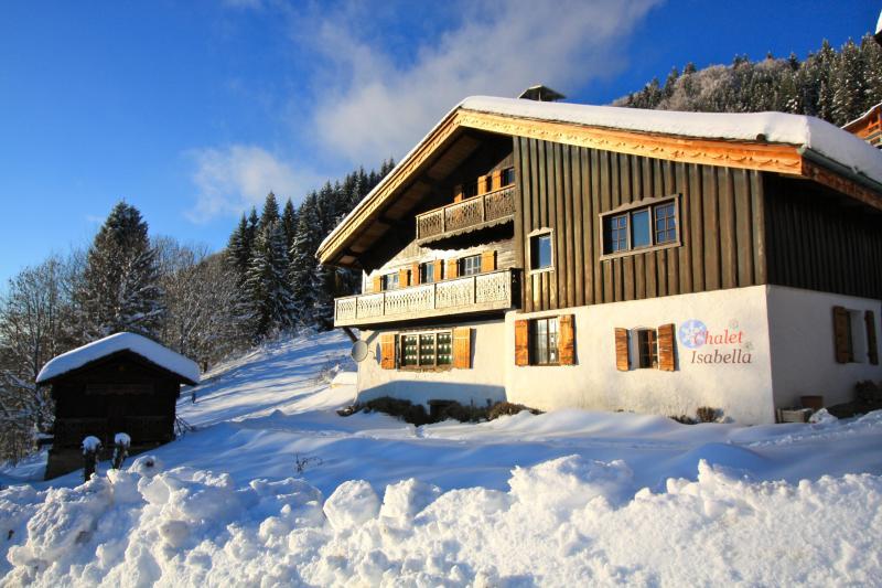 Prefect Winter day - Chalet Isabella a beautiful Alpine Farmhouse - Haute-Savoie - rentals