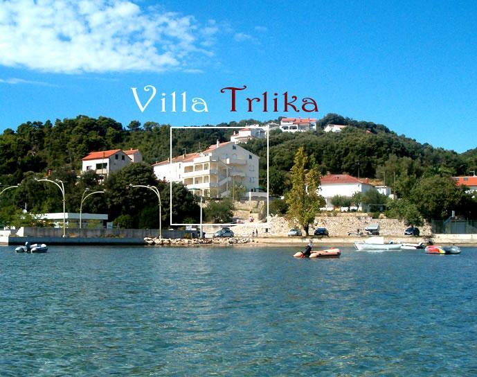 House - Villa Trlika - Apartment A1 - Rab - rentals