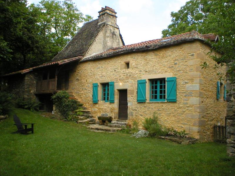 View from the private courtyard - Quercy Farmhouse - Lacapelle Marival - rentals