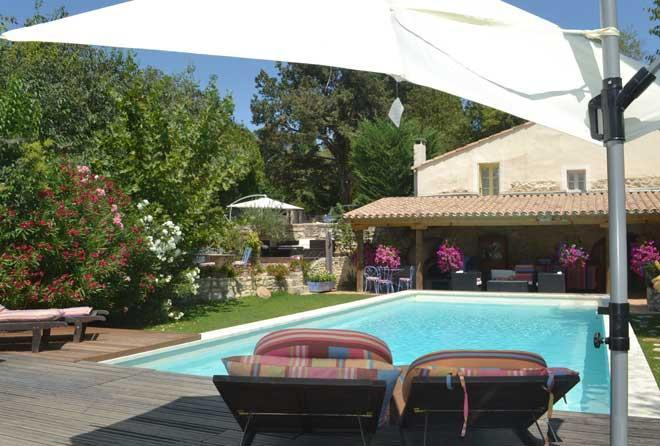 Provencal sunshine is everywhere! - La Bastide at Provence Paradise / 2 BR / Wifi / AC / Pool - Saint-Remy-de-Provence - rentals