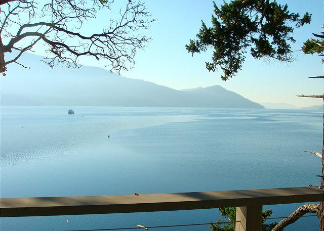 This incredible view from the deck is yours to enjoy. - La Maison by the Sea on Orcas Island - Eastsound - rentals