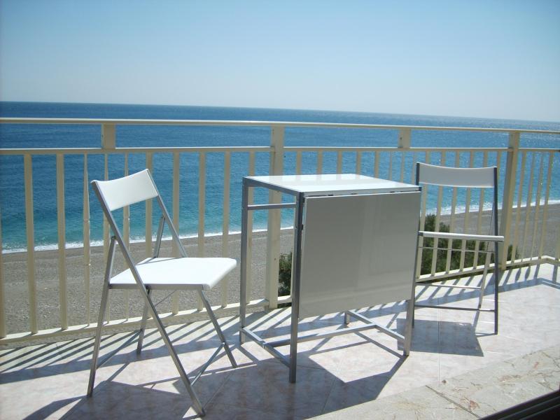"Breathtaking view of the sea - Beachfront apartment ""Baia Blu"" Taormina - Taormina - rentals"