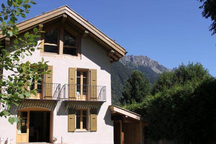 Exterior summer - Chalet Tissourds - Chamonix - rentals