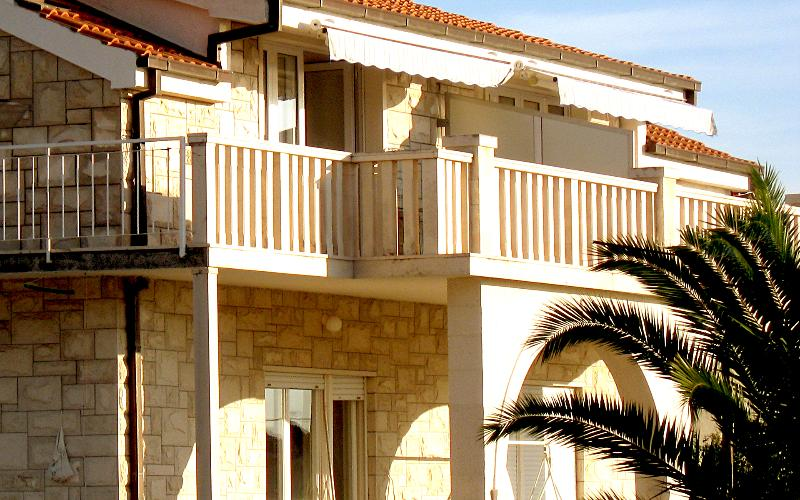 iew on the terrace of the apartment - PaPe Inn apartment for two persons - Trogir - rentals