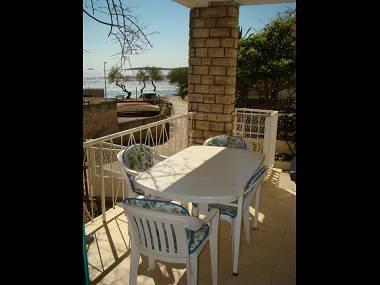A1(5): terrace view - 3593  A1(5) - Primosten - Primosten - rentals