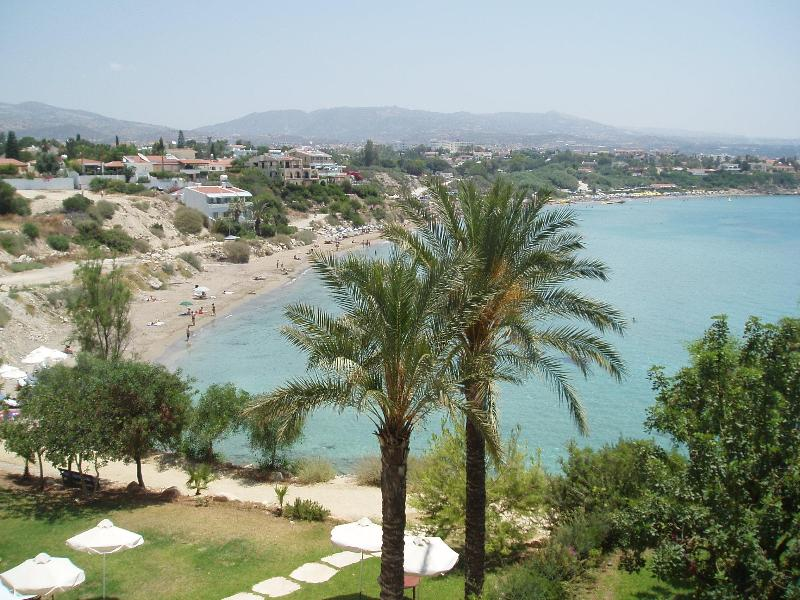 VIEW OF CORAL BAY - Luxury 1 Bedroom Apartment, Pathos Paigia Village. - Peyia - rentals