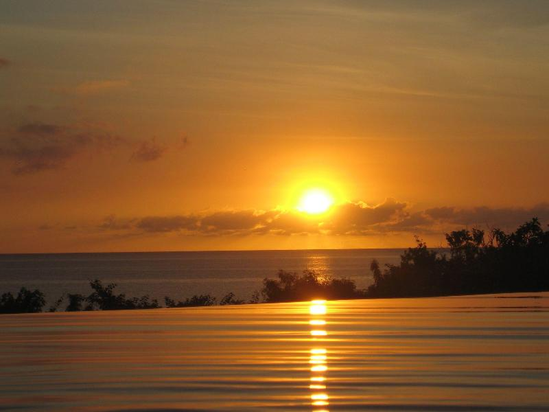 Amazing Sunset Over Infinity Pool - Amazing Oasis for Luxury Holiday - Nevis - rentals