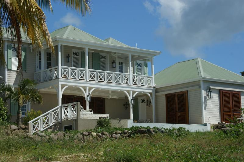 Waterfront Beauty Steps from the Sea - Beautifully Decorated Waterfront Villa - Nevis - rentals
