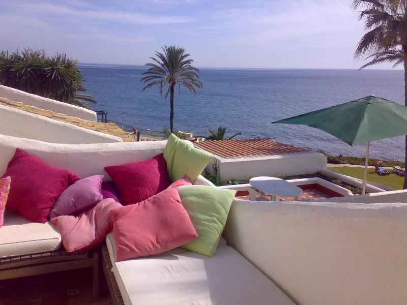 boventerras uitzicht op volle zee - Costa Natura 114, naturism, Costa del Sol, seaview - Estepona - rentals