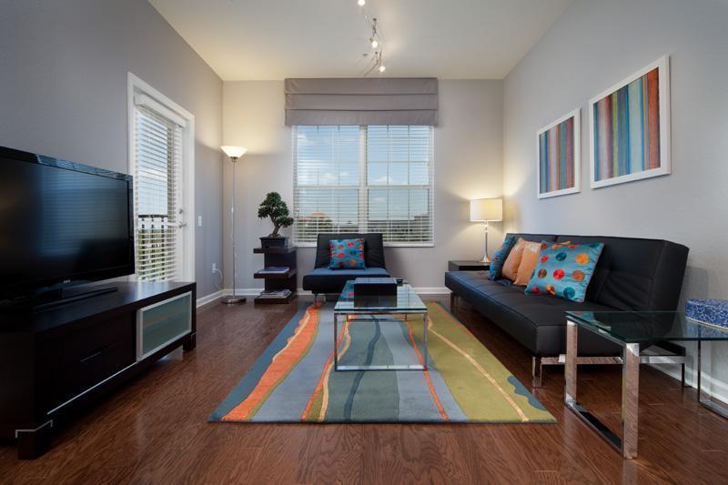 Living Room - Most Beautiful Oustanding 3/BR Condo  Orlando - Orlando - rentals