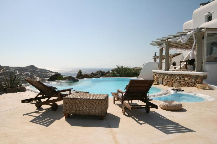 Paradise 1 Vacation rentals on Mykonos, villa rental mykonos greece, paradise beach villa rental mykonos,paranga beach villa to let - Image 1 - Mykonos - rentals
