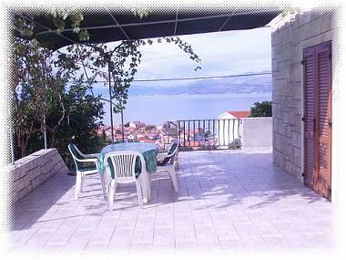 A1(2+1): terrace - 3640  A1(2+1) - Postira - Postira - rentals