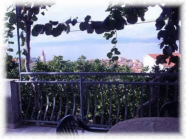 A2(4): terrace view - 3640  A2(4) - Postira - Postira - rentals