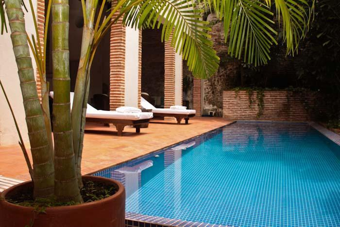 swimming pool - Luxury and Incredible 5 bedrooms house in old city - Cartagena - rentals