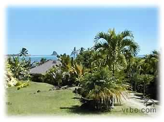 Overview from upper end of property - Kaneohe Bayside Country Retreat - Kaneohe - rentals